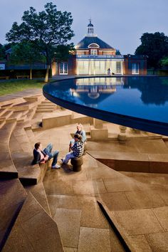 Collective memory was the driving force behind the latest incarnation of the annual, temporary Serpentine Gallery Pavilion, by Swiss architects Jacques Herzog and Pierre de Meuron and Chinese artist-activist Ai Weiwei. http://archrecord.construction.com/features/snapshot/2012/1208-Serpentine-Gallery-Pavilion.asp#