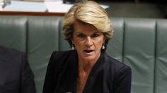A ministra dos Negócios Estrangeiros australiana, Julie Bishop