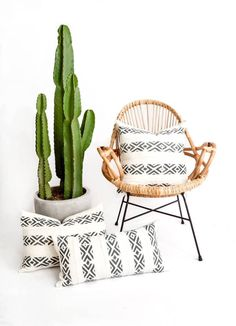 Skeleton Milkweed Pillow Cover |  Mudcloth Pillow, Boho Pillow, African Mudcloth, Boho Decor, Tribal Pillow, Throw Pillow, Lumbar Pillow