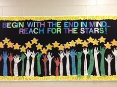 Image result for Reaching Our Goals for Bulletin Boards Leader in Me