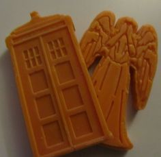 My Doctor Who inspired melts! :D Gotta love a bit of geekyness