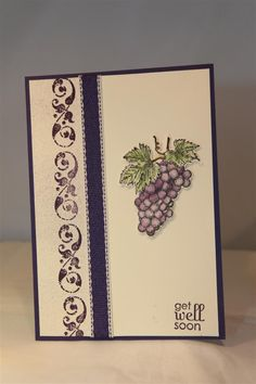 stampin up tuscan vineyard stamp set