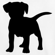 35 Ideas Tattoo Dog Silhouette Tat For 2019 Vogel Silhouette, Silhouette Design, Animal Silhouette, Dog Stencil, Animal Stencil, Stencils, Frozen Dog Treats, Dog Quilts, Motifs Animal