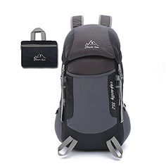 EasiTool UltraLight Portable Climbing Skin Pack Outdoor Foldable Mountaineering Travel Backpack Unisex Sports Bag Trekking Daypack Black >>> Want to know more, click on the image.(This is an Amazon affiliate link and I receive a commission for the sales)