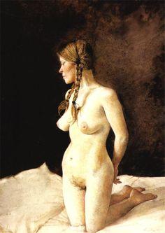 Andrew Wyeth - Helga Testorf, 1977