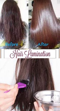 This homemade hair lamination mask is an easy, inexpensive DIY treatment that can make dry, damaged hair stronger, smoother, and shinier over time. Homemade hair gloss gelatin mask (with coconut oi…