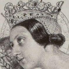 Fotoreproductie van schilderij door Paul Delaroche: Sainte Amelie, reine de Hongrie, Robert Jefferson Bingham, Goupil & Cie, 1858 - Rijksmuseum