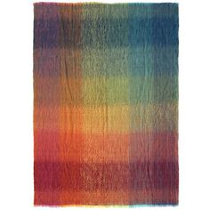 Mohair Prismatic Throw - Royal Academy of Arts - Shop Mohair Blanket, Mohair Throw, Play Shop, Shops, Royal Academy Of Arts, Creative Play, Throw Cushions, Fabric Material, Art For Sale