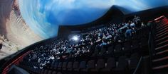 The OMNIMAX® Theater at the Saint Louis Science Center.