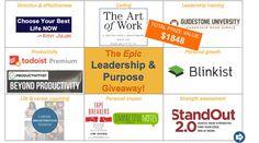 EPIC Leadership & Purpose Giveaway! ($1848 value)