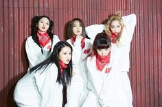 4minute are fierce ladies in bts photos of their 'Act.7' jacket shoot | allkpop.com