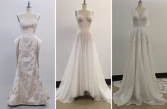 Some of the stories and inspirations of NYC's Fashion Institute of Technology students and future bridal designers when designing their wedding gowns.