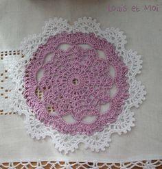 Louis et Moi (cosen y hacen crochet) #doily #crochet #pattern