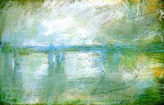 Charing Cross Bridge Claude Monet - circa 1901 (Pastel)