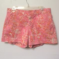 "Pink leopard print shorts Pink orange and white leopard print shorts. 3 3/4"" inseam Calvin Klein Other"
