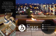 You have known us as The Baltimore Club, now come experience The Brass on Baltimore! Call today for pricing and availability! 816.221.8986