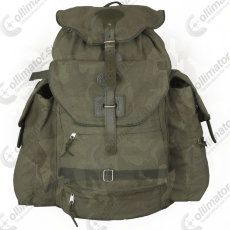 Рюкзак охотничий Acropolis РО-1 с 3 карманами и отделением для оружия (28 литров, брезент, кожа)