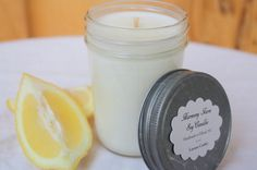 seriously can't get enough of this Lemon Cookie Soy Wax Candle