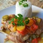 Rabbit Stew with Coconut Cream Recipe - best way yet for rabbit, try adding some veggies next time.