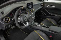 2018 Mercedes-Benz AMG GLA 45 4MATIC Yellow Night Edition