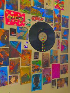 Indie Room Decor, Indie Bedroom, Cute Room Decor, Aesthetic Room Decor, Room Wall Decor, Room Ideas Bedroom, Bedroom Decor, Bedroom Wall, Artistic Room