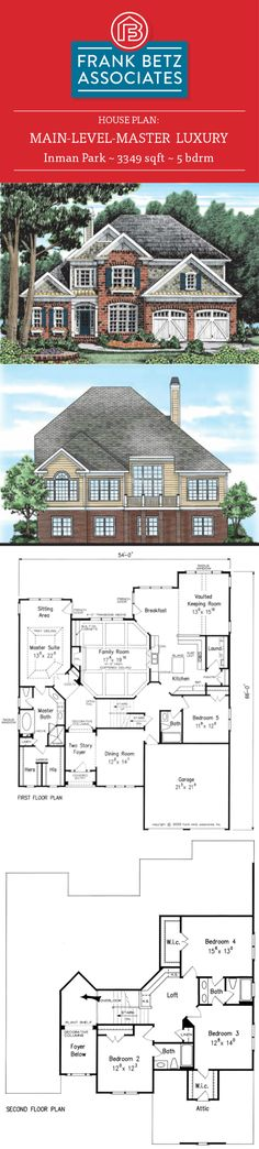 Inman Park: 3349 Sqft, 5 Bdrm, Luxury Main Level Master House