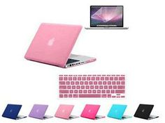 Apple MacBook Pro 15Inch Case - Brand New Rubber Coated Hard Shell Case with Keyboard Cover And Screen Protector  ( Baby ...