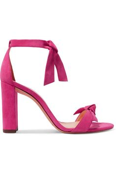 0dde2c00f4a1 Alexandre Birman - Clarita bow-embellished suede sandals