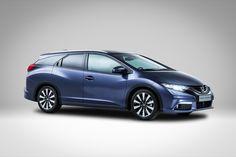 #Honda presenta las primeras fotos del #CivicTourer. La versión familiar del #Civic