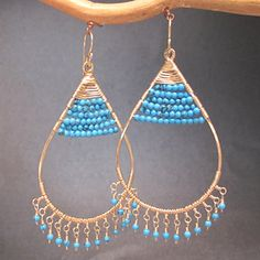 Kashmir 56 Hammered hoops wrapped with choice of gemstones