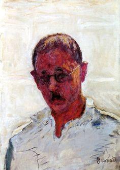 Self-Portrait with an Open Collar Pierre Bonnard - circa 1933