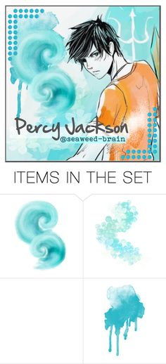 """""""Percy's Icon"""" by laniocracy ❤ liked on Polyvore featuring art"""