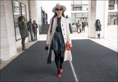 The Urban Vogue: Clean Classic…NYFW 2-2015