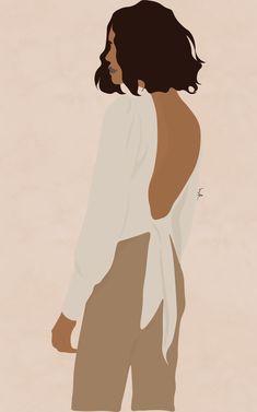 Illustration Art Drawing, Portrait Illustration, Art Drawings Sketches, Digital Illustration, Graphic Illustration, Drawing Art, Woman Illustration, Digital Art Girl, Cartoon Art