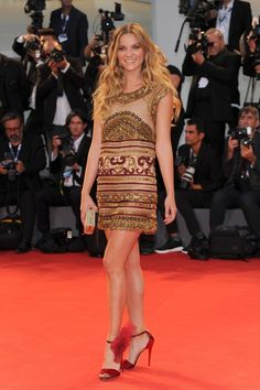 See All the Stars at the 72nd Venice Film Festival - Fiametta Cicogna (Photo: Rex USA)