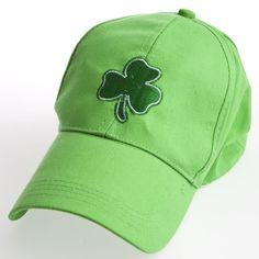7cedda4114f8d Shamrock Baseball Cap. St Patricks Day ...