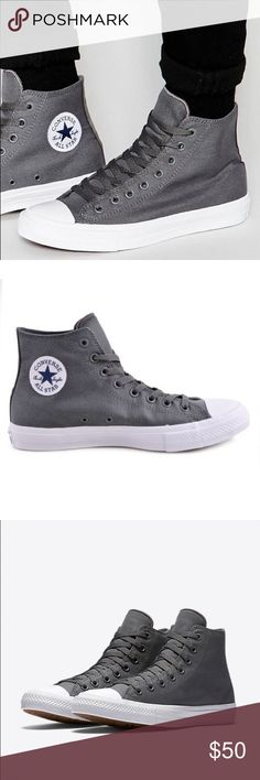 Converse Chuck Taylor II mens shoes hi tops grey Brand new without box Converse Shoes Sneakers
