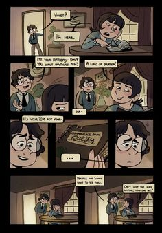 ASOUE fanart comic, post The End. I love this! I hope the artist has more...