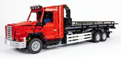 Lego Technic Flatbed Tow Truck