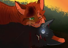 I'm so sorry (Scourge and Firestar) by CHAR-C0AL