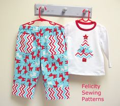 8a8d5e6f78 FREE PATTERN - Play Pants with Christmas tree applique
