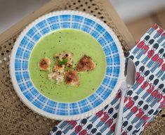 Grön ärtsoppa på åtta minuter - Claras recept, Middagstips - UnderbaraClara