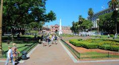 La Plaza de Mayo es la plaza principal en el barrio de Montserrat, en el centro de Buenos Aires, Argentina.