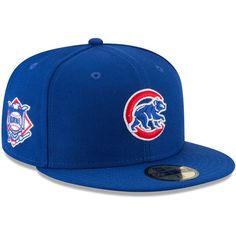 online store 2cbcc e5446 Chicago Cubs Wool Standard 2 Crawling Bear 59Fifty Fitted Hat by New Era