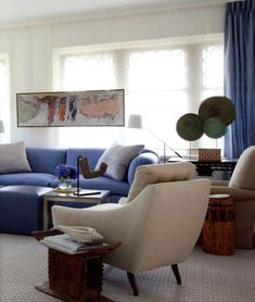 CASUAL, COZY AND BLUE | Mark D. Sikes: Chic People, Glamorous Places, Stylish Things