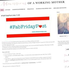 It's my turn to co-host the #fabfridaypost linky again with Su @ethannevelyn ! Come link your posts share your pieces and discover other blogs! #linky #bloggers #pblogger #pbloggers #fridayfun