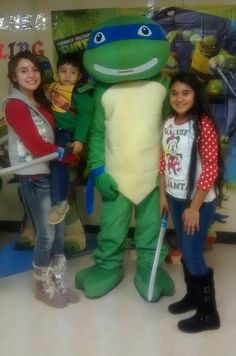 My sister,my cousin,my brother(in the ninja turtles outfit),and me#FAMILYLOVE
