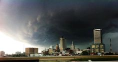 A pic of Tulsa on my happy birthday storm day 2013