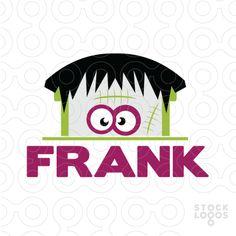 #Logo For Sale: Frankenstein - Kids - #Frankenstein, #kids, #monster, #monsters, #clothing, #Brand,# toys, #game, #face, #cartoon -  #Purchase in: http://stocklogos.com/logo/frankenstein-kids