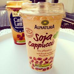 #Kaffepause #heutemalvegan #soja #cappuccino #alnatura